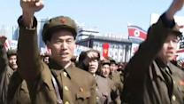 War Cries in North Korea, but No Battle Expected
