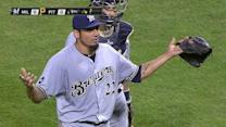 Garza and Roenicke's ejection