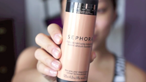 Sephora Instant Airbrush Foundation First Impression