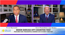 Biden asks reporter if he's a 'junkie' in testy exchange over cognitive decline