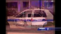 Chicago police involved in two crashes