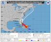 Hurricane Isaias forecast to become Category 2 storm; east coast of Florida in forecast path