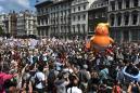 'Love America, Hate Trump.' Inside Today's Massive Anti-Trump Protests in London