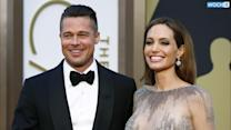 Angelina Jolie's Wedding Dress Drawings Decoded: Flowers, Family Portraits And...Buttock Fattock?!