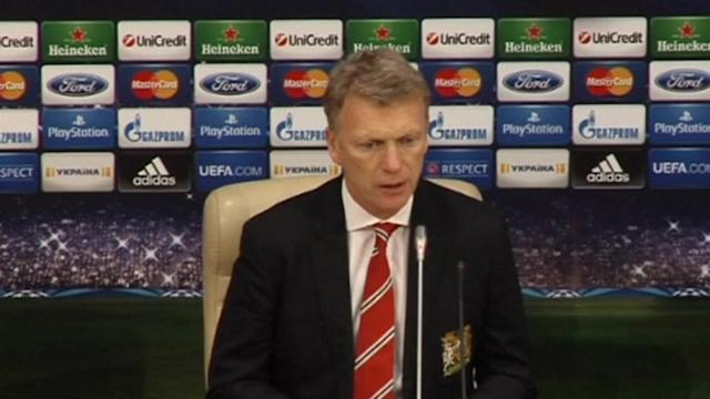 Moyes happy with the draw away to Shakhtar