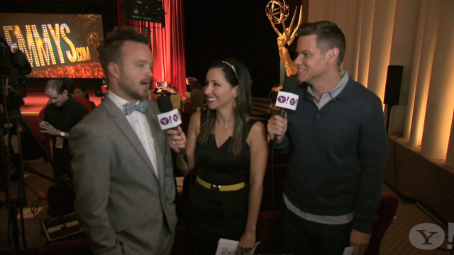 Aaron Paul discusses the Primetime Emmy Nominations