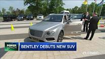 Bentley debuts new SUV