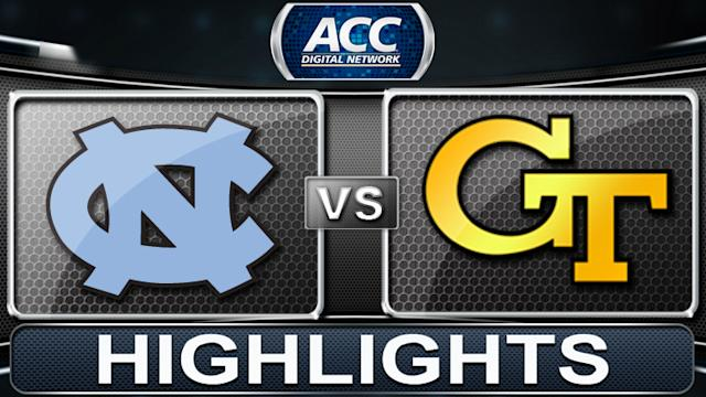 North Carolina vs Georgia Tech | 2013 ACC Football Highlights