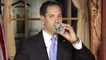 Media outlets pounce on Sen. Rubio's water bottle moment