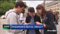 Pokemon Go pays off for retailers