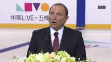 NHL makes China games official, featuring Canucks vs. Kings