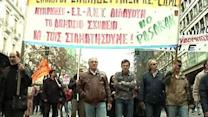 Raw: Greek Protest Against Austerity Reforms