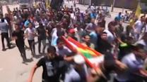 Funeral for Gaza family killed in Israeli air strike