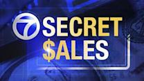 Secret Sales: Deserts, jewelry and totes