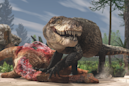 A terrifying crocodile relative, with teeth like a T. rex, may have taken on dinosaurs