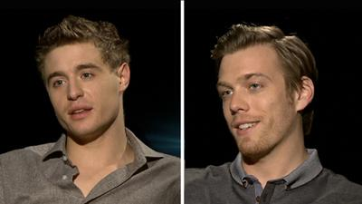Max Irons And Jake Abel Take On 'The Host'