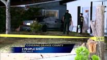 Rescuers rush 2 shooting victims to hospital