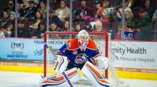 Jonas Gustavsson scores shorthanded goalie goal with AHL's Condors (Video)