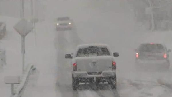Spring winter storms rock Midwest