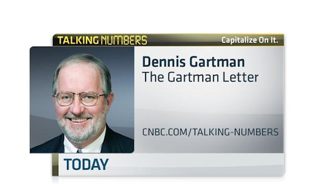GARTMAN: HERE'S WHY GOLD IS NOT A LOSER