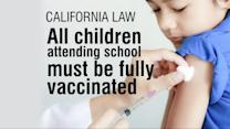 Governor of California Signs a New Bill Making Vaccines Mandatory