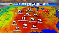 Summer Heat Makes a Comeback in the East