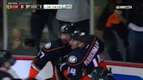 Ducks strike twice in 32 seconds on Crawford