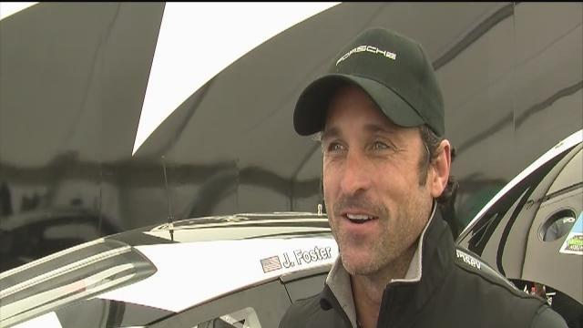 Grey's Anatomy star races car in Tampa Bay