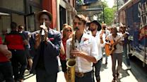 'Love riot' with Jon Batiste & Stay Human and Katie Couric