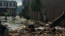 Boston Suburb Damaged by Tornado