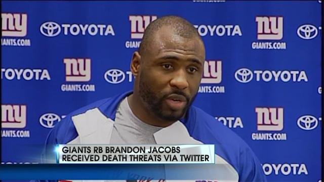 Giants Running Back Received Death Threats