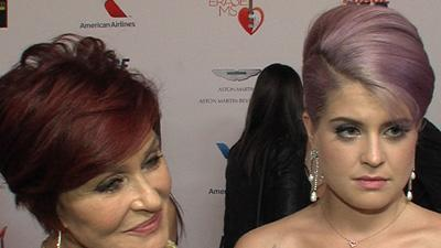 Sharon Osbourne and Kelly Osbourne Lend A Hand To Erase MS