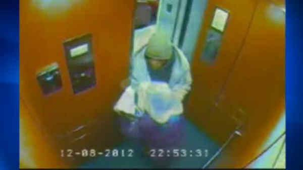 Elderly woman attacked in elevator