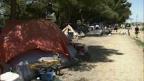 Fullerton homeless encampment forced to clear out