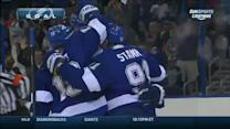 Stamkos sets up Johnson for a one-timer