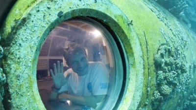 Cousteau's Grandson Talks of Life Undersea