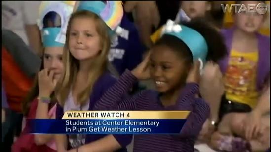Weather Watch 4 School Visit: Center Elementary