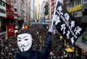 Hong Kong protests flare ahead of Xi meeting with city leader