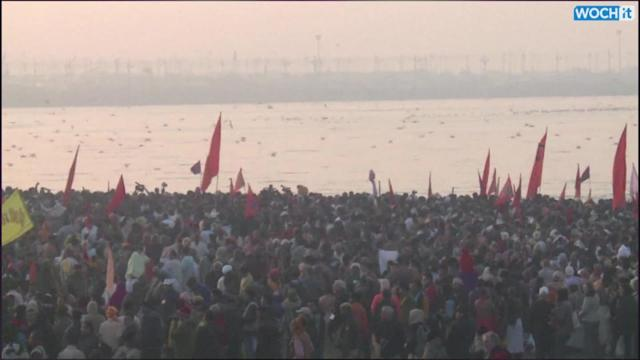 Devout Hindus Celebrate Basant Panchmi In Allahabad