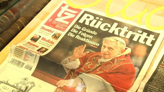 Sadness and enthusiasm in pope's German hometown