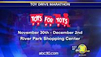 Toys for Tots drive is in overdrive