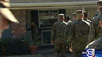 Marines come to aid of victimized veteran