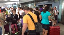 BA says most flights running; angry passengers face delays