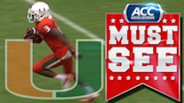 Miami's Tracy Howard Picks Off Jeff Driskel | ACC Must See Moment