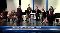 Jazz great urges SCPA students to listen