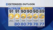 CBSMiami.com Weather 7/24/2014 Thursday 9AM