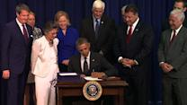 Obama signs into law water, Congressional Gold Medal bills