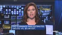 PXD reports EPS miss, revenue beats