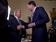 Trump's fury over Russia investigations spurred him to fire Comey, report says