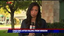 Baby Dies After Falling From 3rd-Story Window